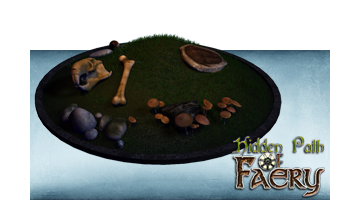 Set de props Hidden Path of Faery